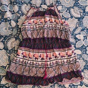Mossimo Multicolored Sleeveless Romper